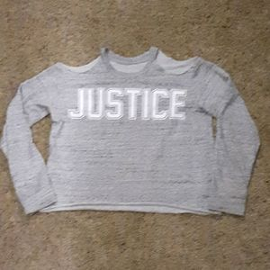 Like New Justice Brand Girls long sleeve